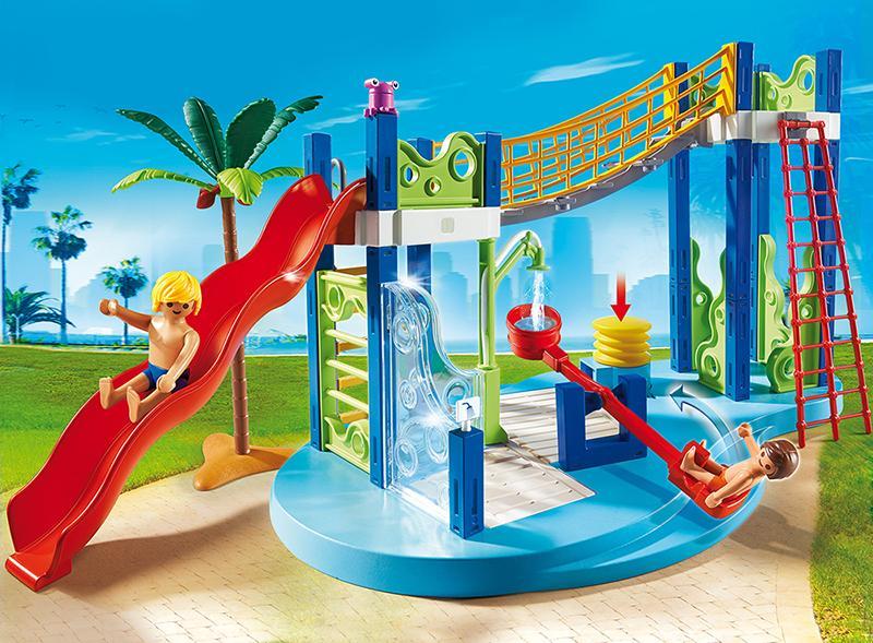 Playmobil Klettergerüst : Playmobil wasserspielplatz