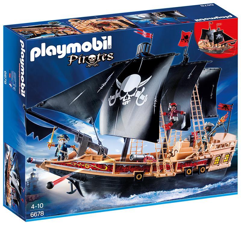 PLAYMOBIL 6678 Piraten Kampfschiff