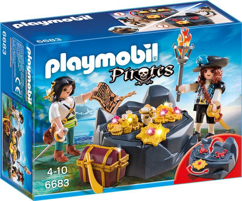 PLAYMOBIL 6683 Piraten Schatzversteck
