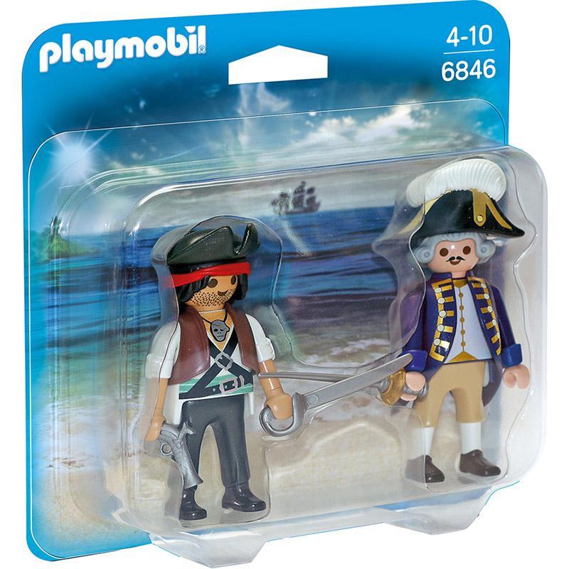 PLAYMOBIL 6846 Pirat und Soldat