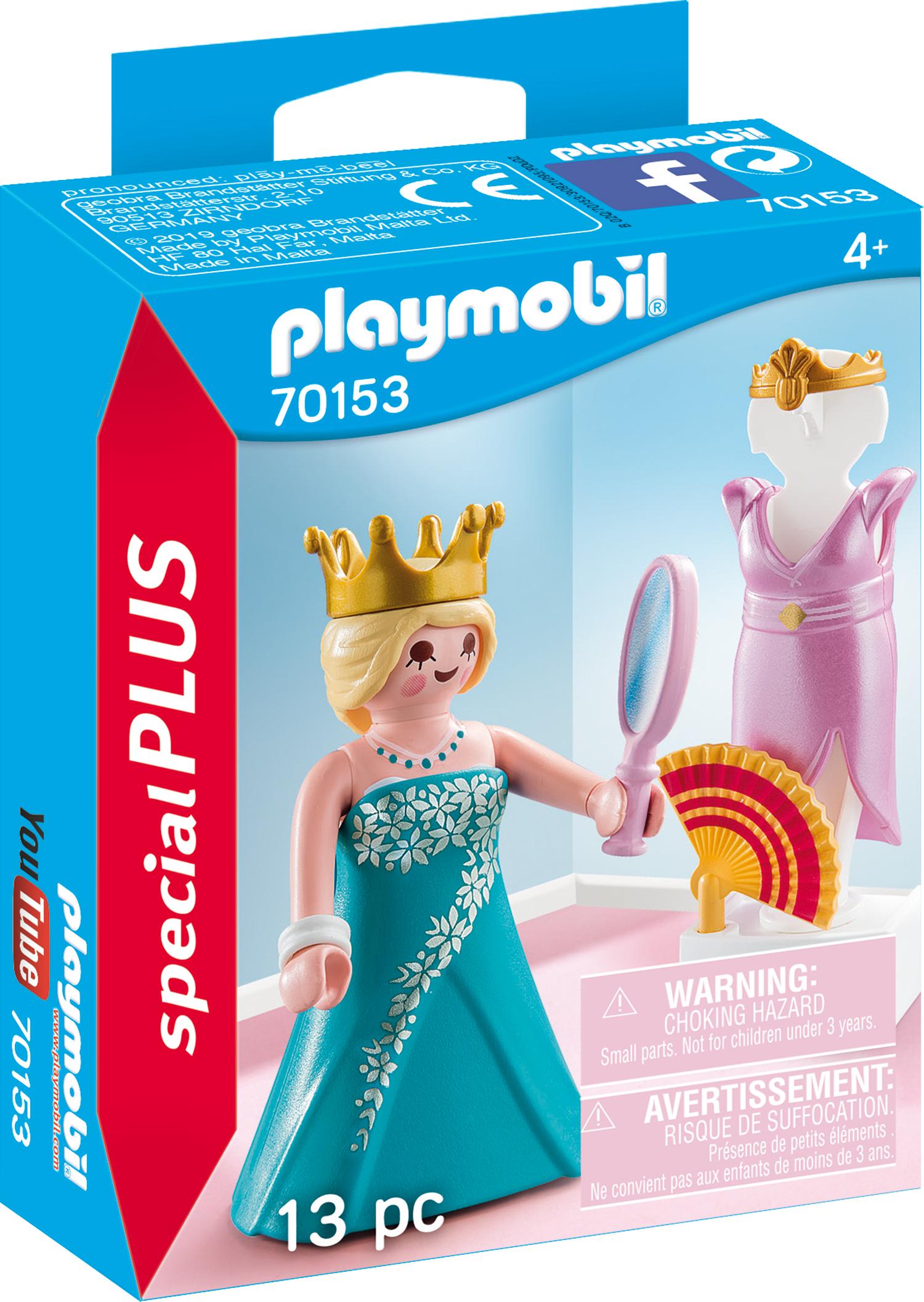 PLAYMOBIL 70153 Prinzessin mit Kleiderpuppe
