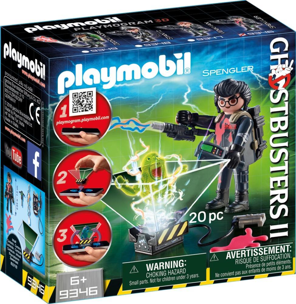PLAYMOBIL 9346 Ghostbusters Egon Spengler