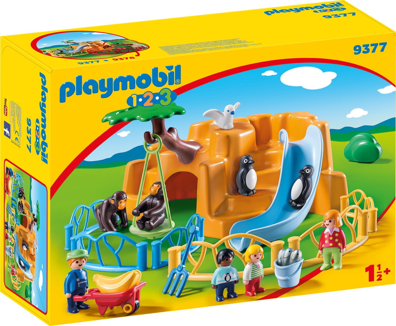 PLAYMOBIL 9377 1.2.3 Zoo