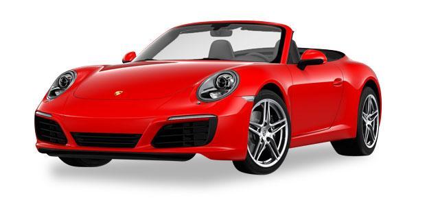 Herpa H0 Porsche 911 Carrera 2 Cabrio
