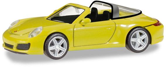 Herpa 028868 Porsche 911 Targa 4 racinggelb