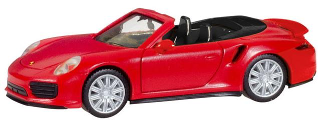 Herpa 028929 Porsche 911 Turbo Cabrio