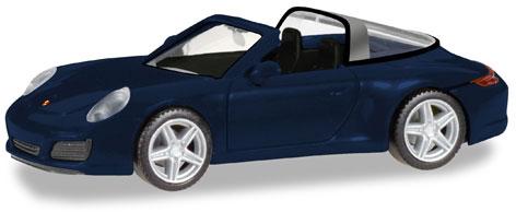 Herpa 038867 Porsche 911 Targa4 nachtblaumetallic