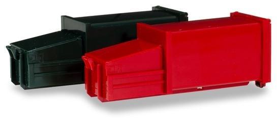 Herpa 076876 2 Pressmüllcontainer