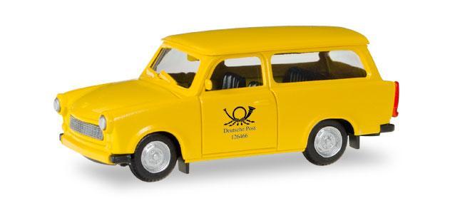 Herpa 093095 Trabant Universal Deutsche Post