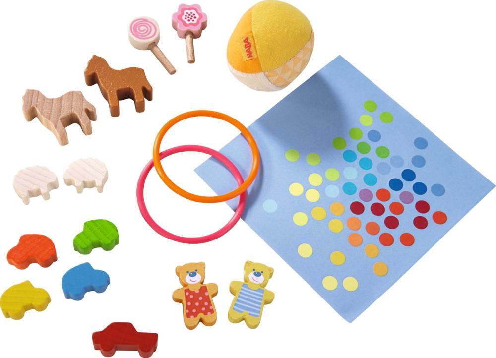 HABA Little Friends Puppenhaus Spielset Spielsache