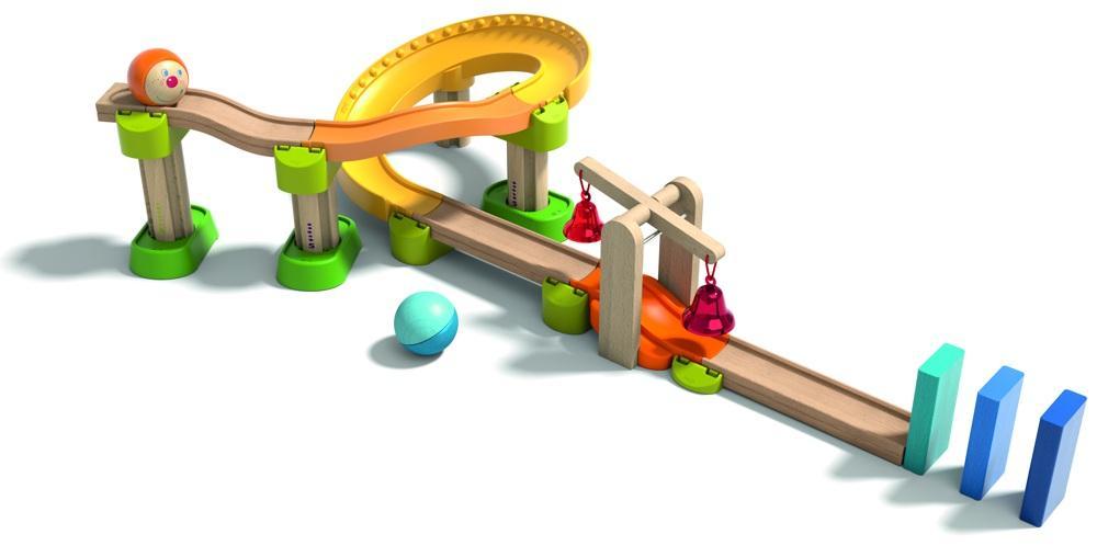 HABA Kullerbü Spielbahn Klingeling