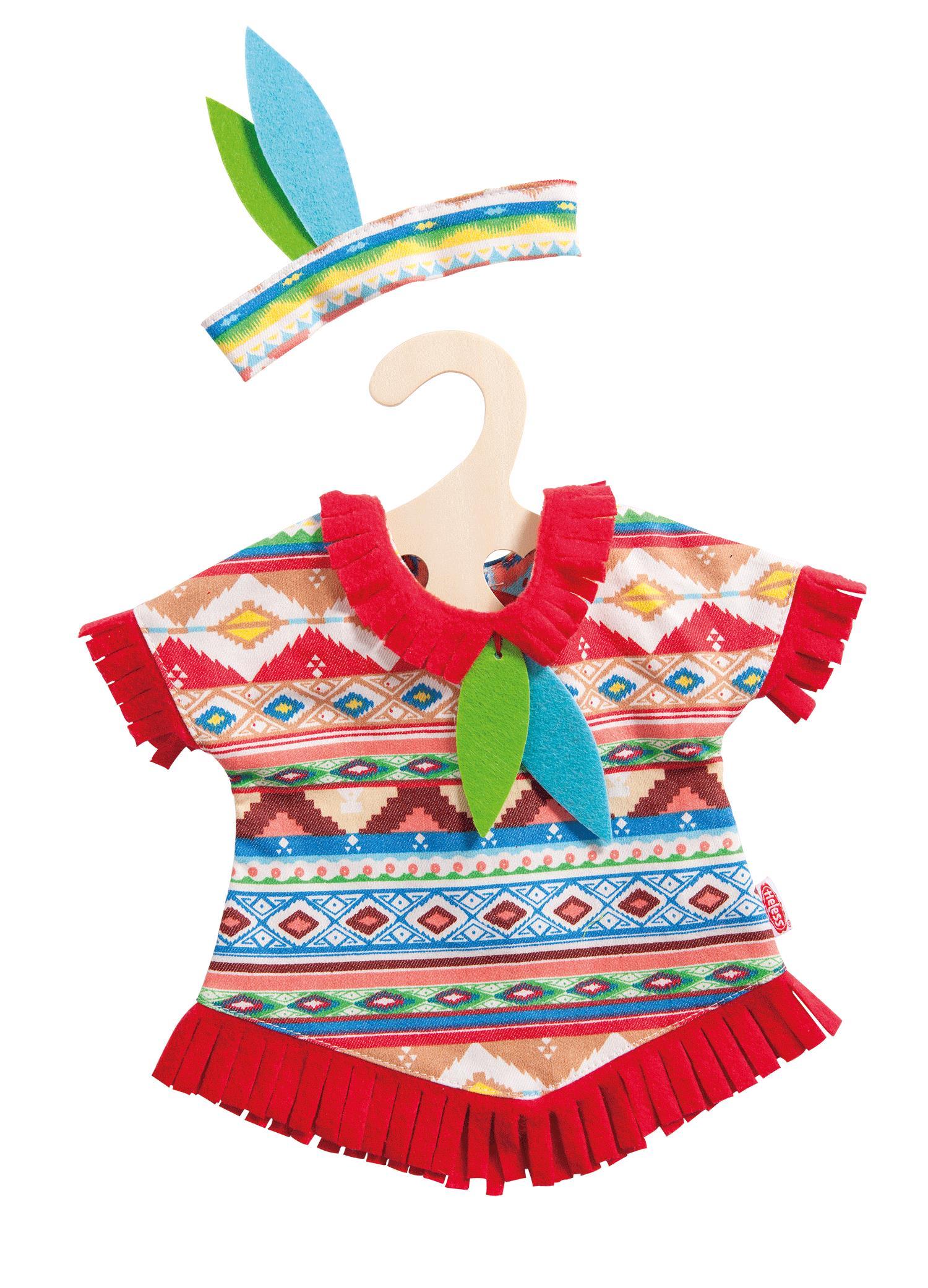 Heless Puppen Indianer Set 35-45cm