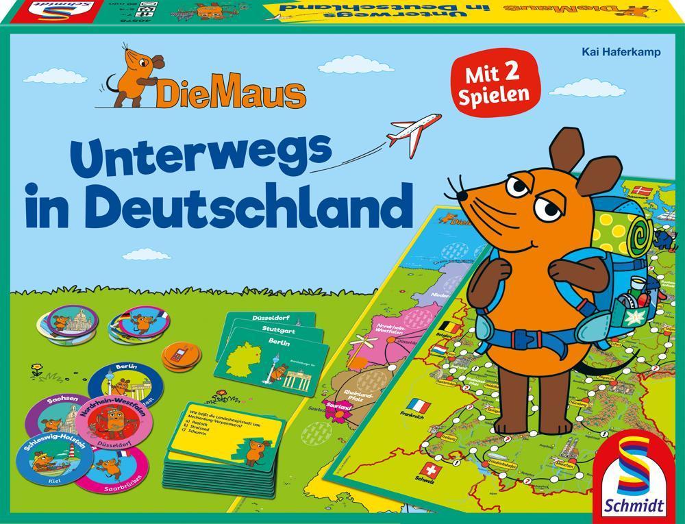 Schmidt Spiele Die Maus Unterwegs in Deutschland