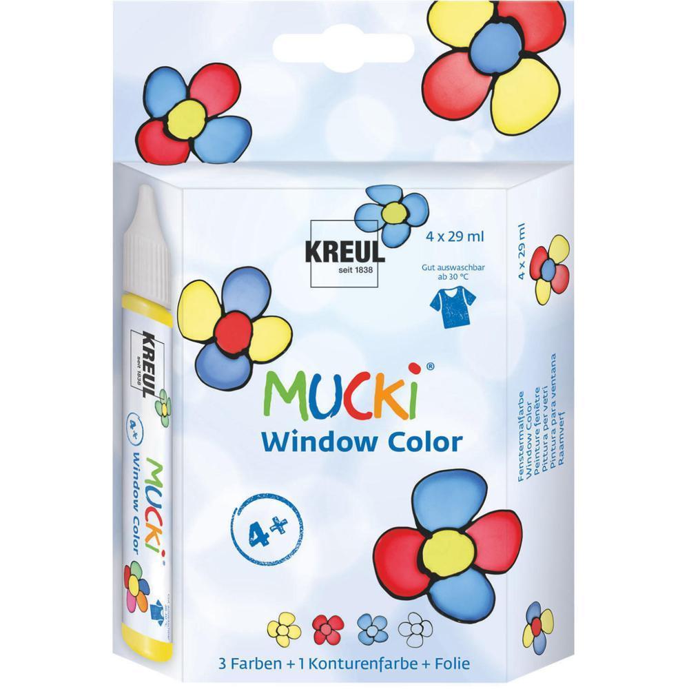 Mucki Window Color 4er Set