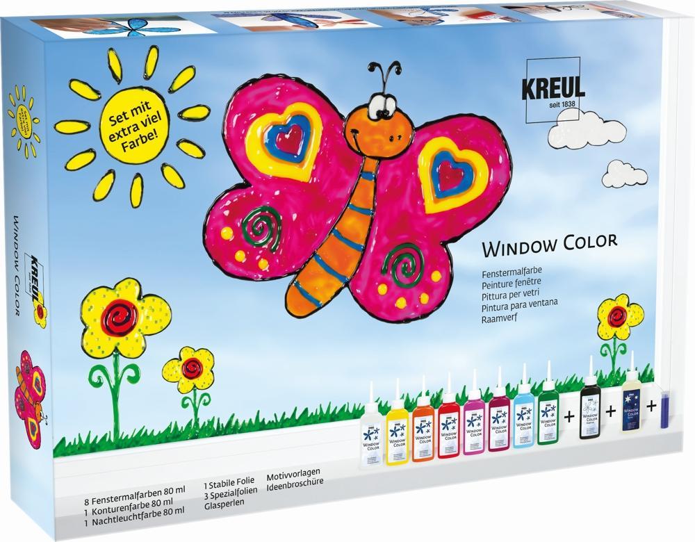 Window Color Set mit 8 Farben