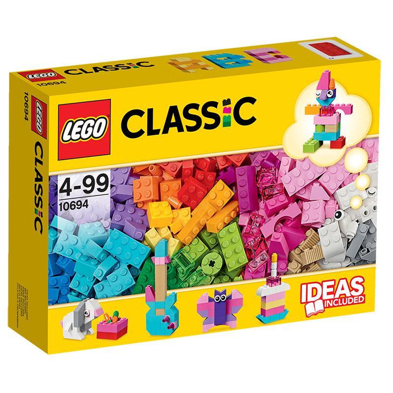 LEGO Classic 10694 Baustein-Ergänzung Pastel 303Te