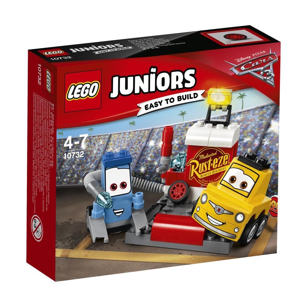 LEGO Juniors 10732 Guido und Luigis Pit Stopp