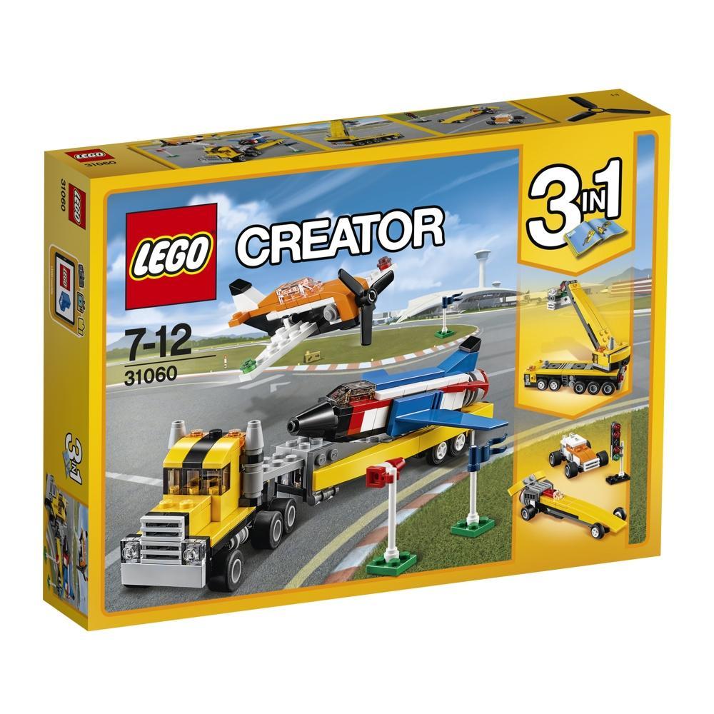 LEGO Creator 31060 Flugschau Attraktionen