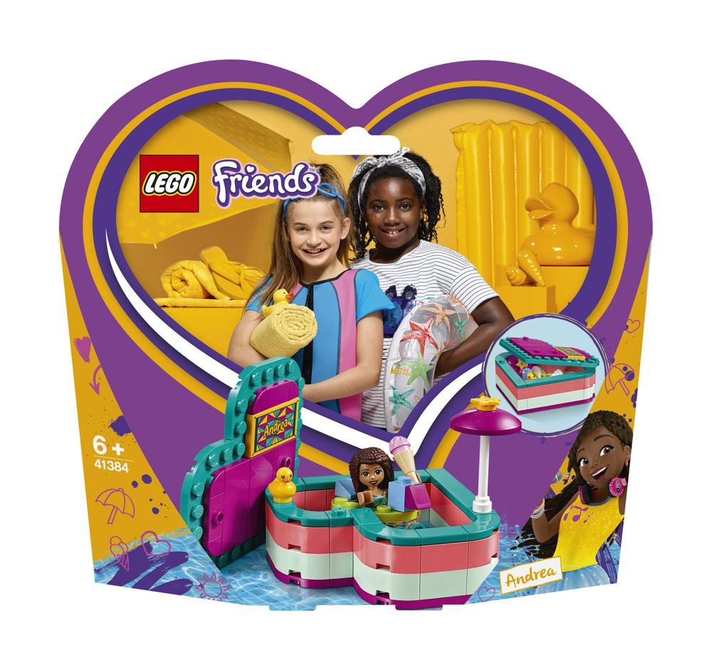 LEGO Friends 41384 Andreas sommerliche Herzbox