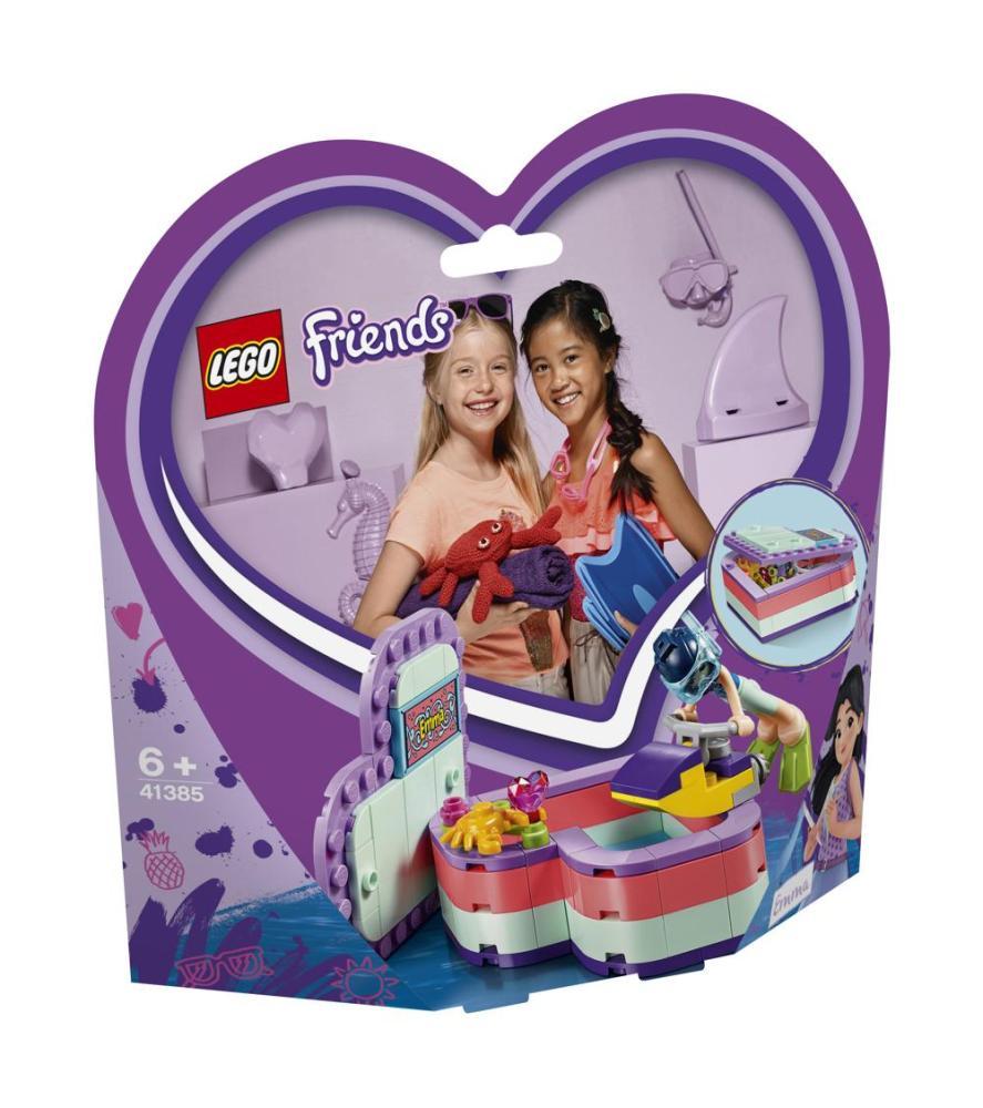 LEGO Friends 41385 Emmas sommerliche Herzbox