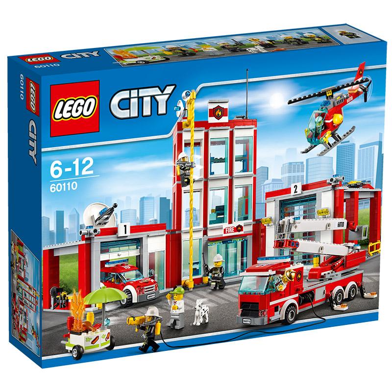 LEGO City 60110 Große Feuerwehrstation