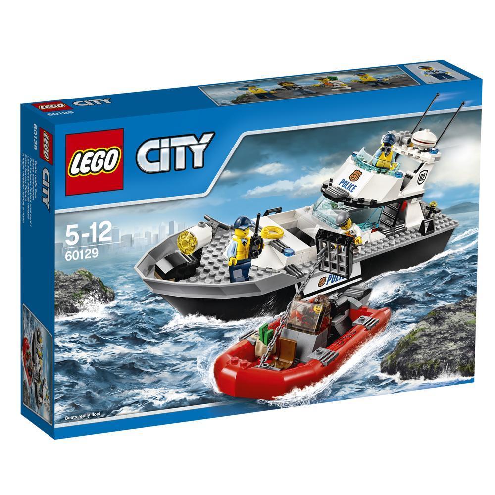 LEGO City 60129 Polizei-Patrouillen-Boot