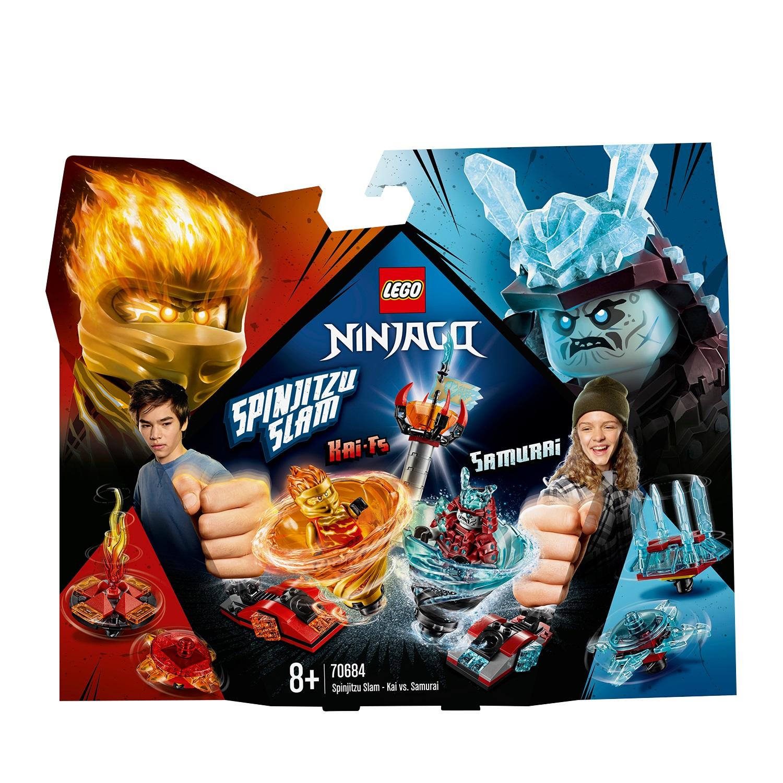 LEGO 70684 Spinjitzu Slam Kai vs Eissamurai