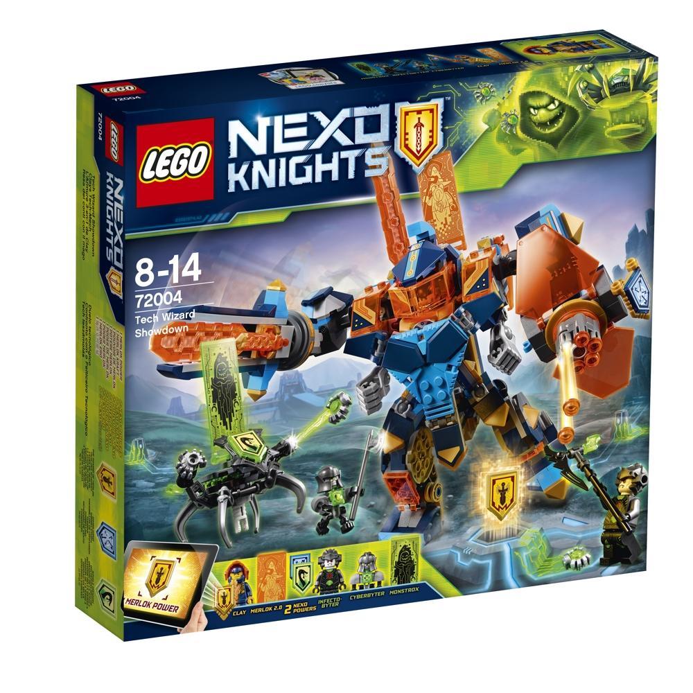 Lego NEXO KNIGHTS 72004 Clays Tech-Mech