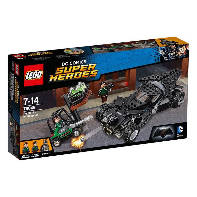 LEGO DC Comics 76045 Kryptonitmission im Batmobil