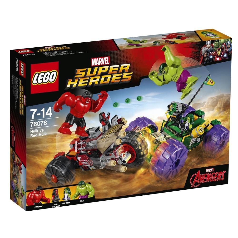 LEGO Marvel 76078 Hulk gegen Red Hulk