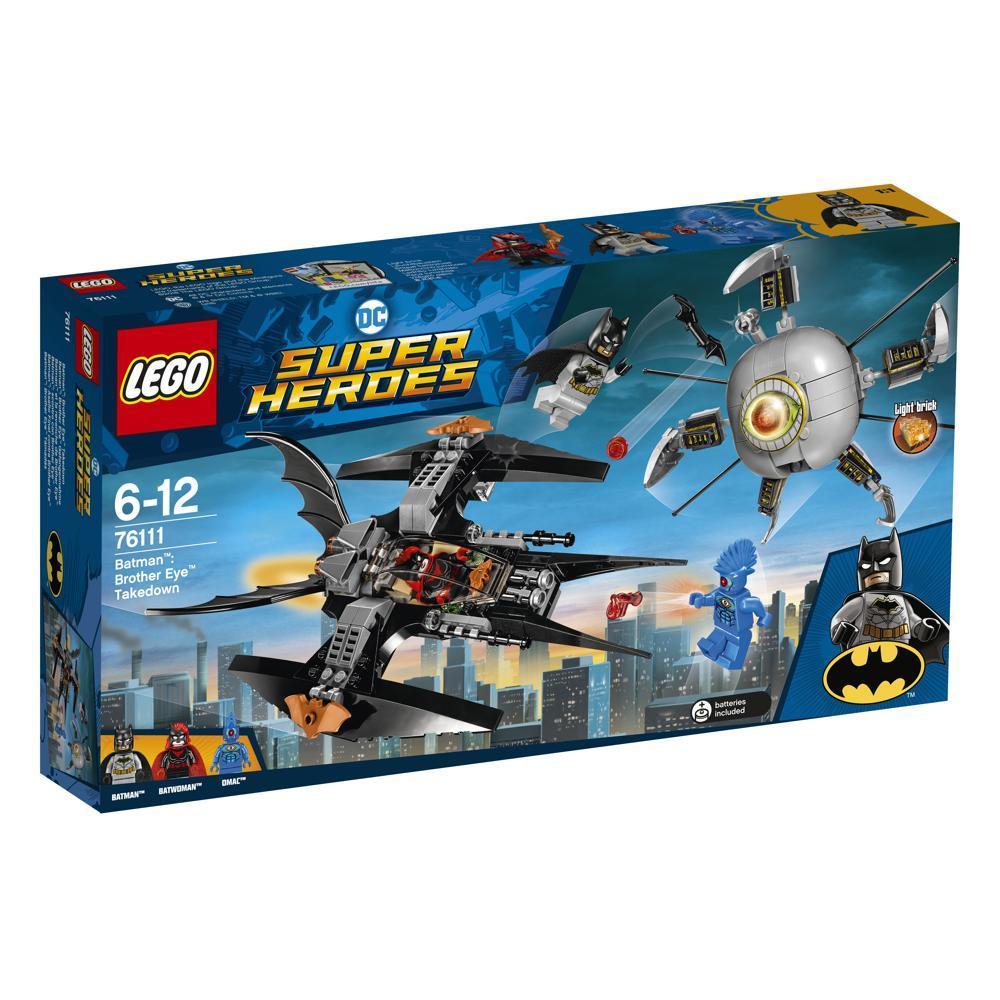 LEGO DC Comics 76111 Batman Brother Eye Gefangen