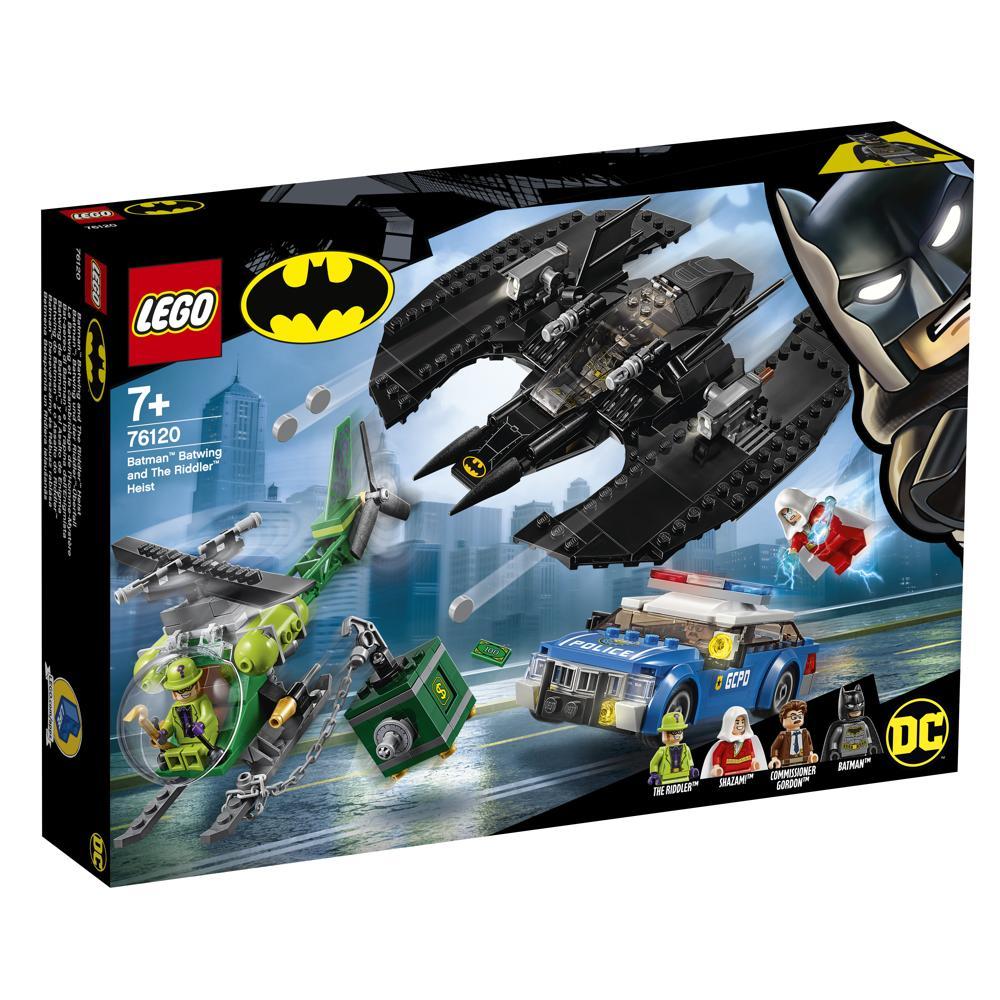 LEGO 76120 Batwing und Riddlerüberfall