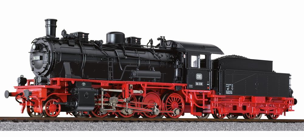 Liliput L131567 H0 AC Dampflok BR 56 338 DB III