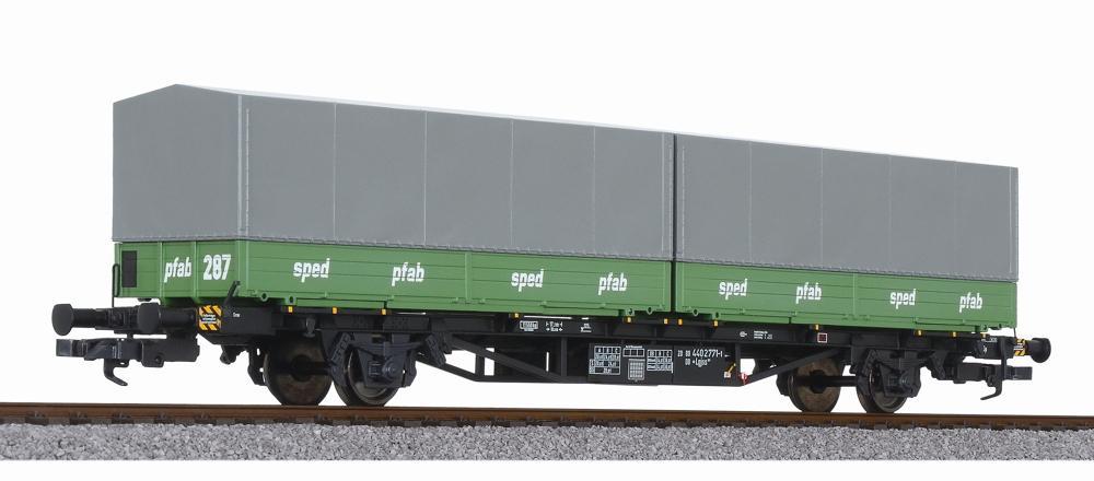 Liliput L235221 H0 Containertragwagen Lgjs 571.1