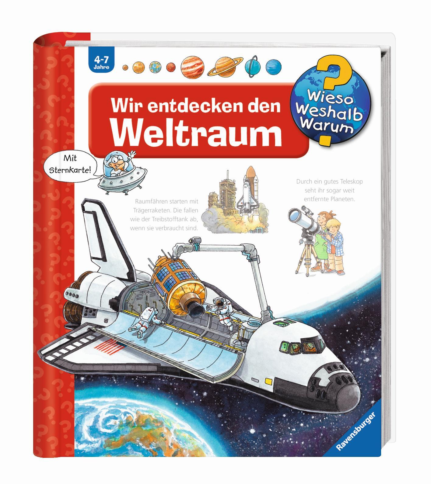 Ravensburger WWW Wir entdecken den Weltraum