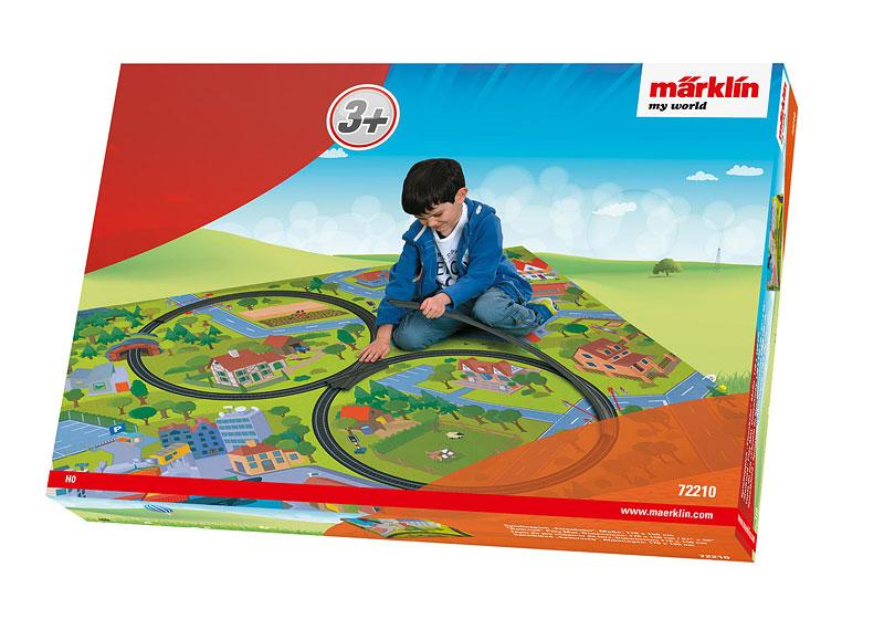 Märklin My World Spielteppich Eisenbahn