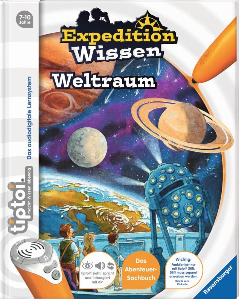 tiptoi Expedition Wissen Weltraum