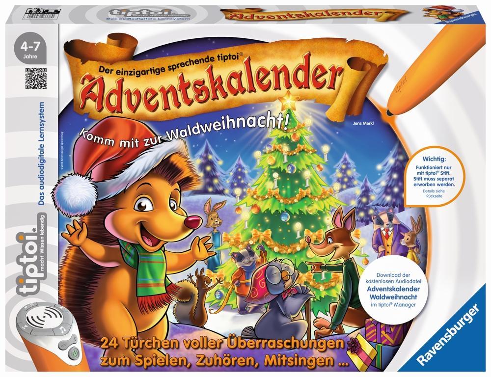 Ravensburger tiptoi® Adventskalender - Waldweihnac