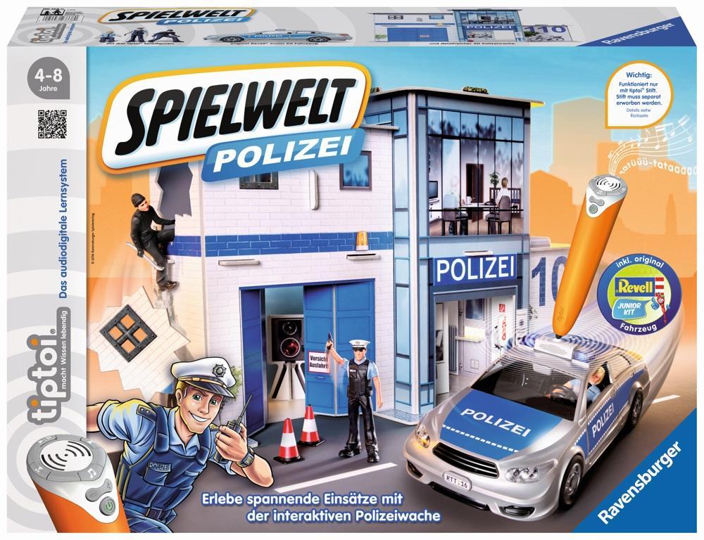 tiptoi Spielewelt Polizei