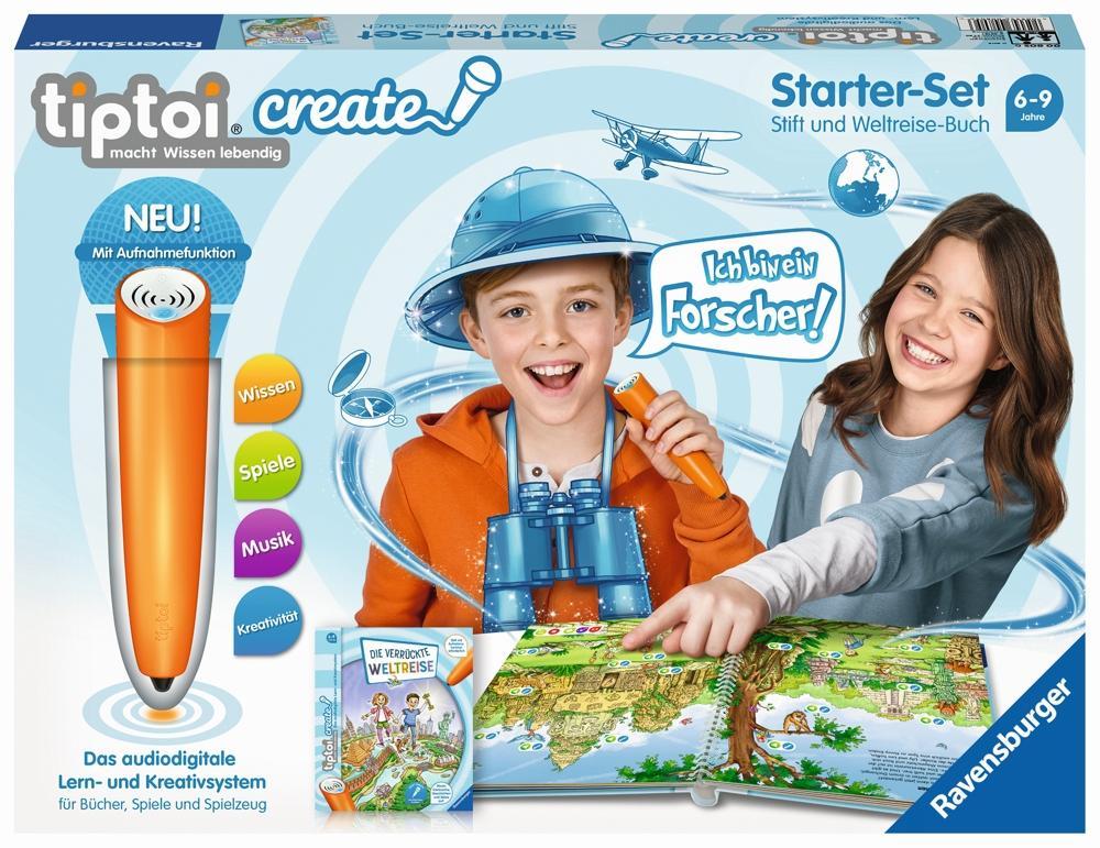 tiptoi Create Starter-Set Weltreise