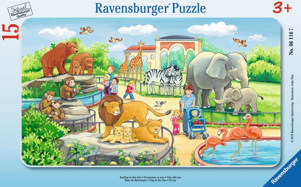 Ravensburger Puzzle Ausflug in den Zoo