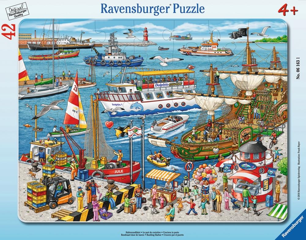 Ravensburger Puzzle Hafenrundfahrt