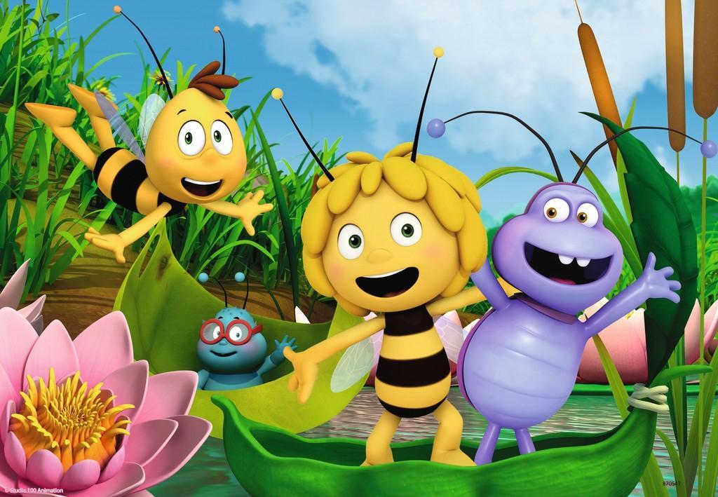 Ravensburger Puzzle Ausflug mit Biene Maja