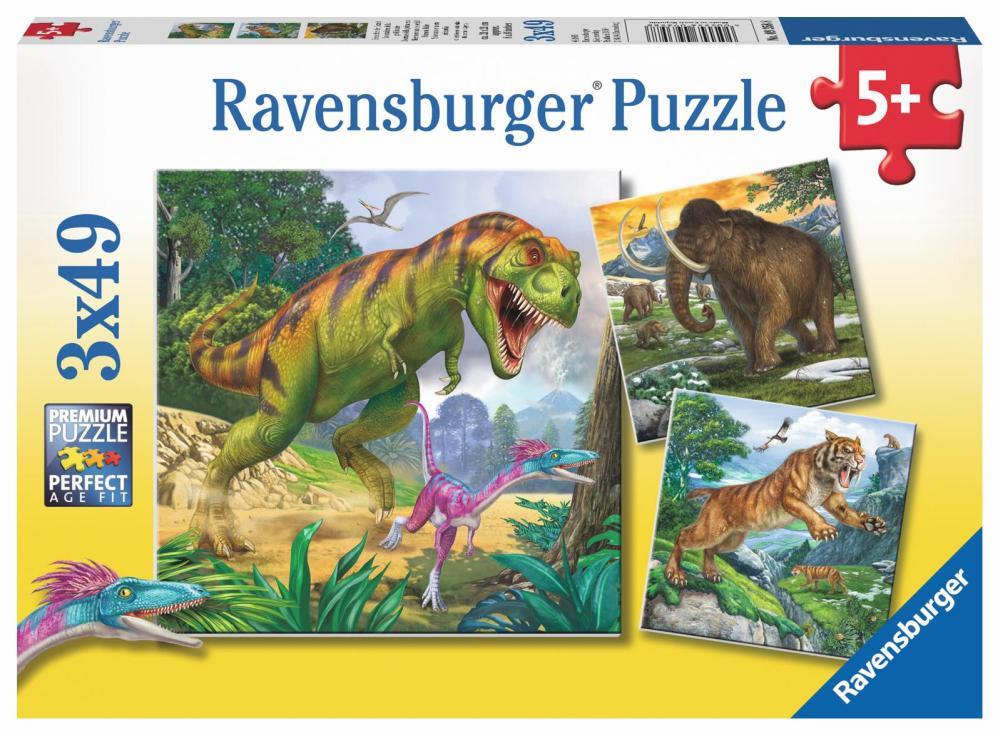 Ravensburger Puzzle Herrscher der Urzeit