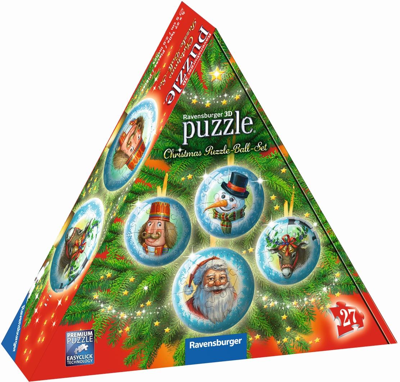 Ravensburger 3D Puzzle Ball Set Christmas