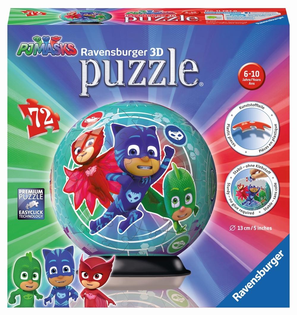 Ravensburger 3D Puzzleball PJ Masks