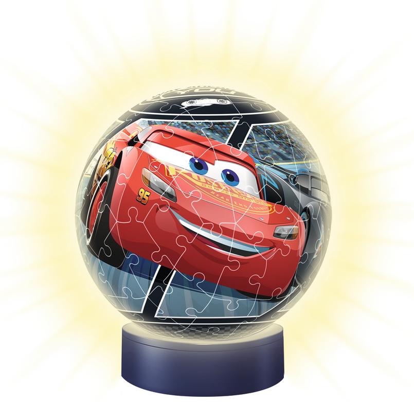 Ravensburger Puzzle 3D Ball Nachtlicht Cars 3