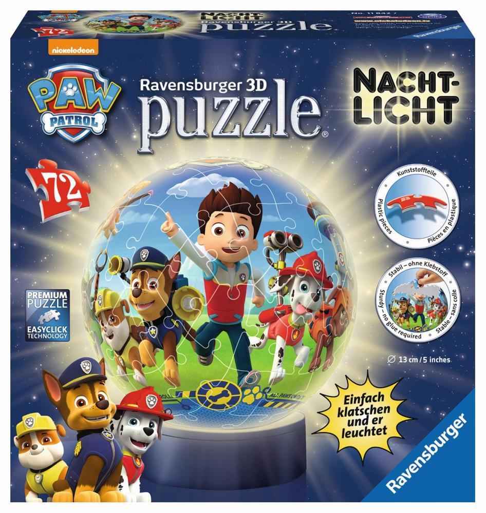 3D Puzzle Nachtlicht Paw Patrol