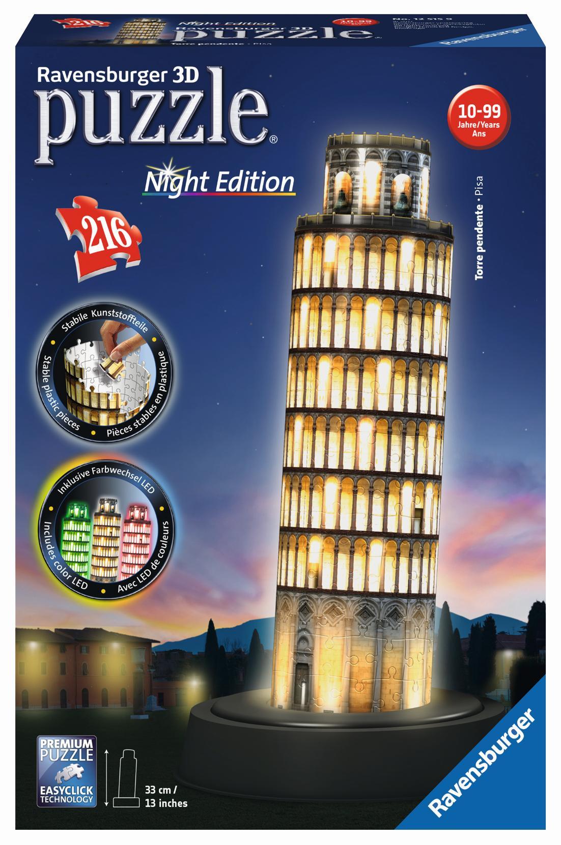 Ravensburger 3D Puzzle Der Schiefe Turm von Pisa