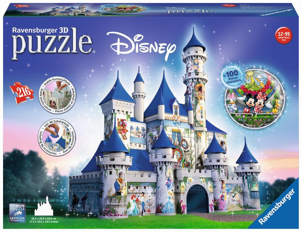 Ravensburger3D Puzzle Disney Schloss